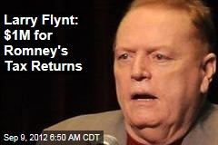 Larry Flynt: $1M for Romney's Tax Returns