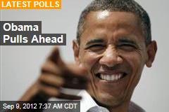 Obama Pulls Ahead