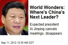 World Wonders: Where's China's Next Leader?