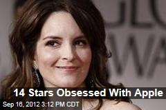 14 Stars Obsessed With Apple