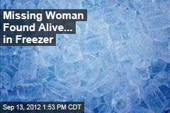 Missing Woman Found Alive... in Freezer