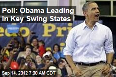 Poll: Obama Leading in Key Swing States