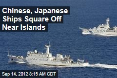 Chinese Ships Enter Japanese Waters