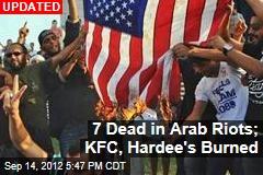 2 Dead in Tunisia; US Restaurants Burned