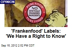 Let's Label Genetically Modified Foods