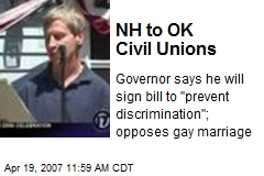 NH to OK Civil Unions