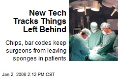 New Tech Tracks Things Left Behind