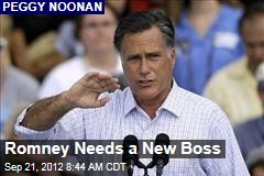 Romney Needs a New Boss