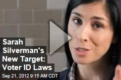 Sarah Silverman's New Target: Voter ID Laws