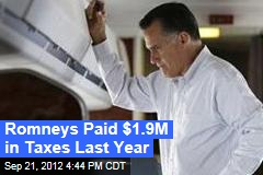 Romney Releasing 2011 Tax Returns