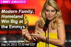 Emmys Start With Modern Family Win