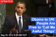 Obama to UN: US Will Block a Nuclear Iran