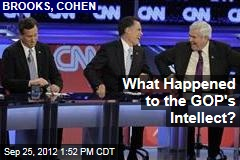 What Happened to the GOP's Intellect?