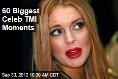 60 Biggest Celeb TMI Moments