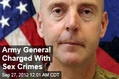 Army General Charged With Sex Crimes