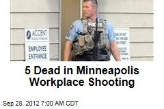 Several Dead in Minneapolis Workplace Shooting
