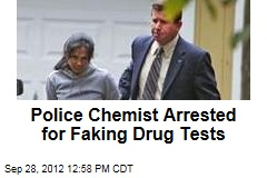 Police Chemist Arrested for Faking Drug Tests