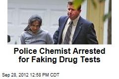 Police Chemist Arrested for Faking Drug Tests