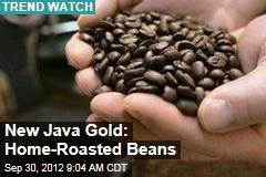 New Java Gold: Home-Roasted Beans