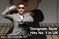 'Gangnam Style' Hits No. 1 in UK
