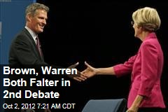 Brown, Warren Both Falter in 2nd Debate