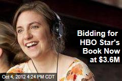 Bidding for HBO Star's Book Now at $3.6M
