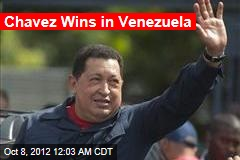 Chavez Wins in Venezuela