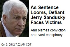 Sandusky Blames Guilty Verdict on Web of Conspiracy
