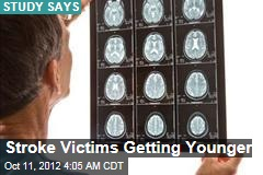 Stroke Victims Getting Younger