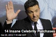 14 Insane Celebrity Purchases
