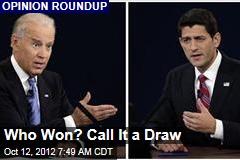 VP Debate Winner: Viewers