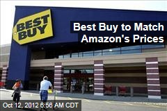 Best Buy to Match Amazon's Prices