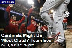 Cardinals Might Be 'Most Clutch' Team Ever
