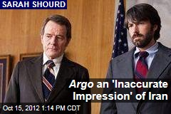Argo an 'Inaccurate Impression' of Iran