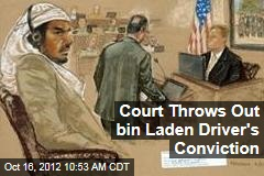 Court Throws Out bin Laden Driver's Conviction