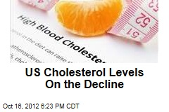 US Cholesterol Levels On the Decline