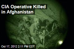 CIA Operative Killed in Afghanistan