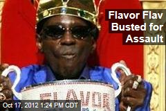 Flavor Flav Busted for Assault