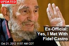 Report: Fidel Castro Appears in Public