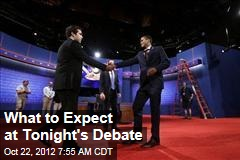 What to Expect in Tonight's Debate