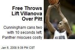 Free Throws Lift Villanova Over Pitt