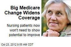 Big Medicare Change Widens Coverage