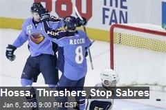 Hossa, Thrashers Stop Sabres