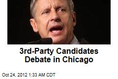 3rd-Party Candidates Debate in Chicago
