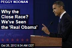 Why the Close Race? We've Seen the 'Real Obama'
