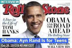 Obama: Ayn Rand Is for Teens