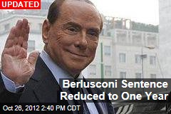 Berlusconi Sentenced to 4 Years in Tax Fraud