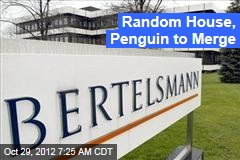 Random House, Penguin to Merge