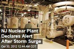 NJ Nuclear Plant Declares Alert After Storm Surge