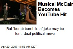 Musical McCain Becomes YouTube Hit